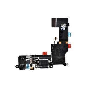 Charging Port Flex for iPhone 5S (PRIME) - Black