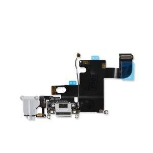Charging Port Flex for iPhone 6 (PRIME) - Light Gray