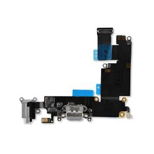 Charging Port Flex for iPhone 6 Plus (PRIME) - Dark Gray