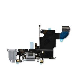 Charging Port Flex for iPhone 6S (PRIME) - Dark Gray