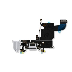 Charging Port Flex for iPhone 6S (PRIME) - Light Gray