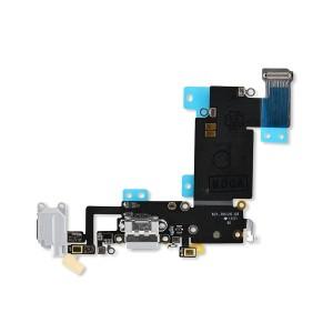 Charging Port Flex for iPhone 6S Plus (PRIME) - Light Gray