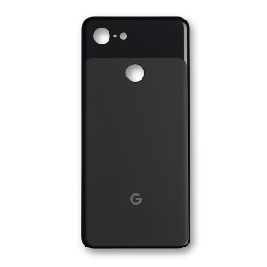 Back Glass (w/ Adhesive) for Pixel 3 - Black
