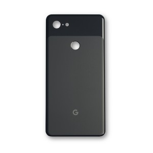 Back Glass with Adhesive for Google Pixel 3 XL - Black