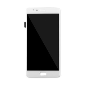 LCD & Digitizer Framed Assembly for OnePlus 3T (A3010) - White