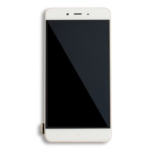 LCD & Digitizer Framed Assembly for OnePlus X - White
