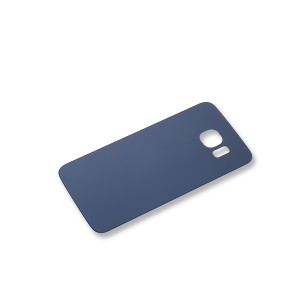 Back Glass with Adhesive for Galaxy S6 (Generic) - Black