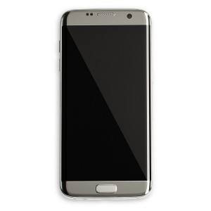 OLED Frame Assembly for Galaxy S7 Edge (OEM - Certified Refurbished) - Silver Titanium