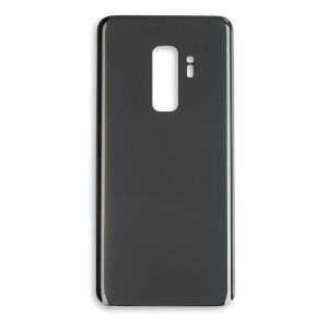 Back Glass with Adhesive for Galaxy S9+ (GENERIC) - Titanium Gray