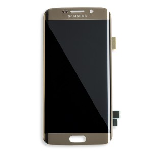 OLED Display Assembly for Galaxy S6 Edge (OEM - Refurbished) - Gold Platinum