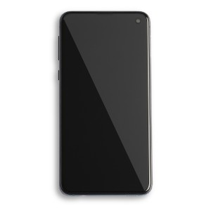 OLED Frame Assembly for Galaxy S10e (OEM - Service Pack) - Prism Black