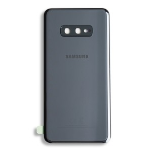 Back Glass with Adhesive for Galaxy S10e (Prime - OEM) - Prism Black