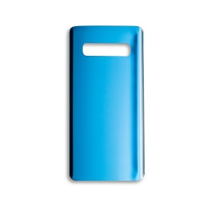 Back Glass with Adhesive for Galaxy S10 (GENERIC) - Prism Blue