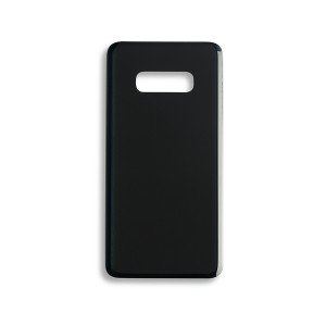 Back Glass with Adhesive for Galaxy S10e (Generic) - Prism Black