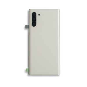 Back Glass for Galaxy Note 10 (OEM - Service Pack) - Aura White