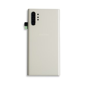 Back Glass for Galaxy Note 10+ (OEM - Service Pack) - Aura White