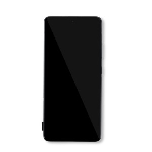 Display Assembly with Frame for Galaxy A51 5G (A516U) (Excluding A516V) - Black