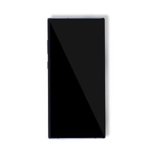 OLED Frame Assembly for Galaxy Note 10+ / Note 10+ 5G (OEM - Service Pack) - Aura Blue