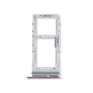 Dual Sim Tray for Galaxy S20 5G / S20+ 5G / S20 Ultra 5G - Cloud Pink