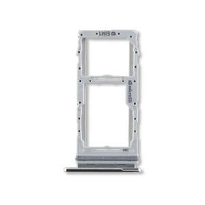 Dual Sim Tray for Galaxy S20 5G / S20+ 5G / S20 Ultra 5G - Cloud White