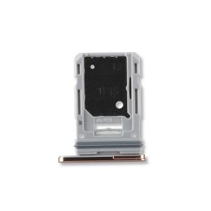 Single Sim Tray for Galaxy S20 FE 5G - Cloud Orange