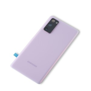 Back Glass with Adhesive for Galaxy S20 FE 5G (OEM - Service Pack) - Cloud Lavender