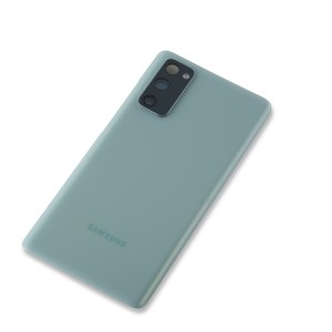 Back Glass with Adhesive for Galaxy S20 FE 5G (OEM - Service Pack) - Cloud Mint