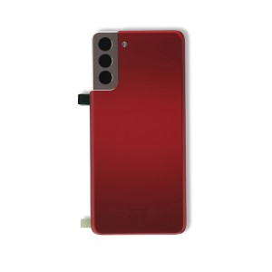 Back Glass with Adhesive for Galaxy S21+ 5G (OEM - Service Pack) - Phantom Red