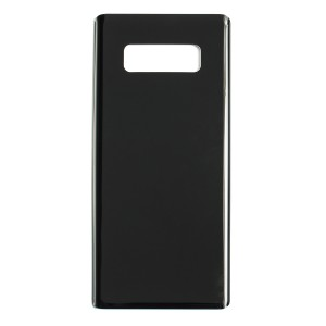 Back Glass with Adhesive for Galaxy Note 8 (Generic) - Midnight Black