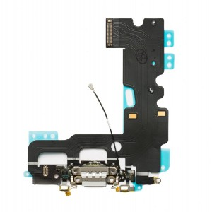 Charging Port Flex Cable for iPhone 7 - Light Gray