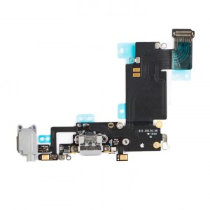 "Charging Port & Headphone Jack Flex Cable for iPhone 6S Plus (5.5"") - Dark Gray"