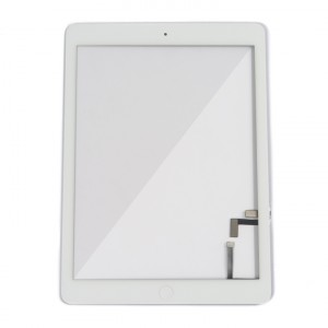 Digitizer & Home Button Assembly (w/ Adhesive) for iPad Air (MDSelect) - White