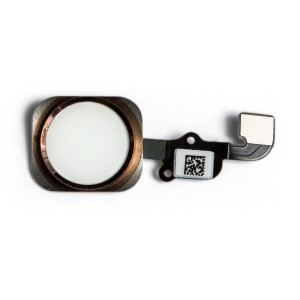 Home Button Flex Cable for iPhone 6S - Rose Gold (No Touch ID)