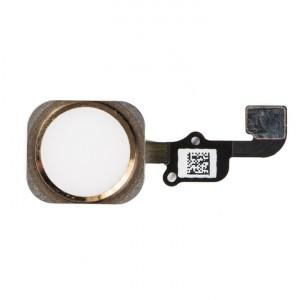 "Home Button Flex Cable (w/ Fingerprint Scanner) for iPhone 6S (4.7"") - Gold (Fingerprint scanner is aftermarket - biometrics may not work)"