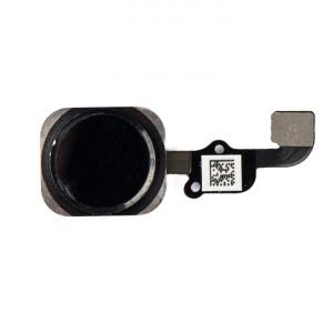 "Home Button Flex Cable (w/ Fingerprint Scanner) for iPhone 6S Plus (5.5"") - Black (Fingerprint scanner is aftermarket - biometrics may not work)"