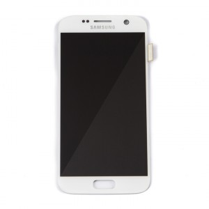 OLED Display Assembly for Galaxy S7 (OEM - Service Pack) - White Pearl