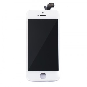 LCD & Digitizer Frame Assembly for iPhone 5 (MDSelect) - White