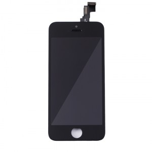 LCD & Digitizer Frame Assembly for iPhone 5C (MDSelect) - Black