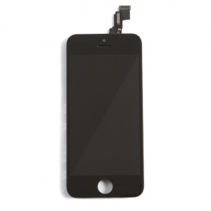 LCD & Digitizer Frame Assembly for iPhone 5C (PrimeParts - Premium) - Black