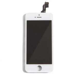 LCD & Digitizer Frame Assembly for iPhone 5C (MDSelect) - White