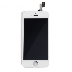 LCD & Digitizer Frame Assembly for iPhone 5S (MDSelect) - White