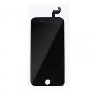 """LCD & Digitizer Frame Assembly for iPhone 6S (4.7"""") (PrimeParts - Premium) - Black"""
