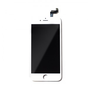 """LCD & Digitizer Frame Assembly for iPhone 6S (4.7"""") (MDSelect) - White"""