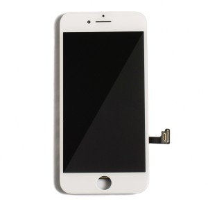 """LCD & Digitizer Frame Assembly for iPhone 7 (4.7"""") (PrimeParts - Premium) - White"""