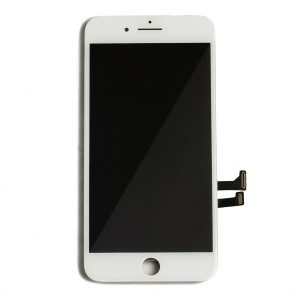 """LCD & Digitizer Frame Assembly for iPhone 7 Plus (5.5"""") (PrimeParts - Premium) - White"""