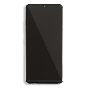 LCD & Digitizer Frame Assembly for LG G7 ThinQ (G710) (Genuine OEM) - Platinum Gray