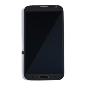 LCD & Digitizer Frame Assembly for Samsung Galaxy Note 2 (N7105 / I317 / T889) (MDSelect - Generic) - Titanium Grey