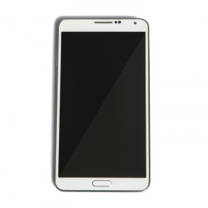 LCD & Digitizer Frame Assembly for Samsung Galaxy Note 3 (N900A / N900T) (MDSelect - Generic) - White