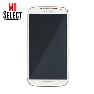 LCD & Digitizer Frame Assembly for Samsung Galaxy S4 (I337 / M919 / L720T) (PrimeParts - OEM) - White