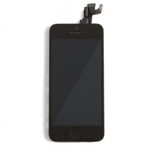 Display Assembly with Small Parts for iPhone 5S (SELECT - EXPRESS) - Black